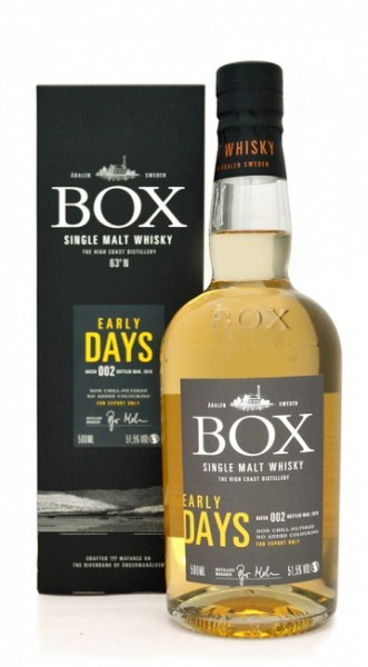 Box Early Days Single Malt Batch 002