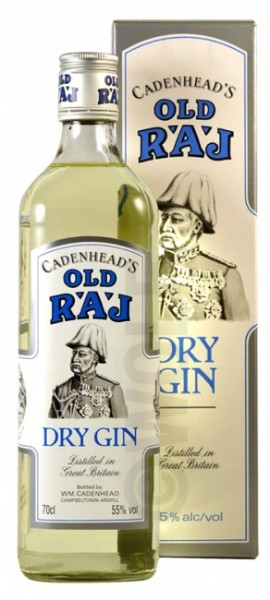 Cadenhead's Old Raj Dry Gin 55%