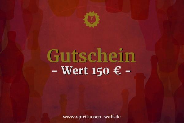 Geschenkgutschein 150 EUR