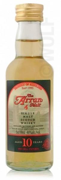 Arran Single Malt 10 Jahre Miniatur