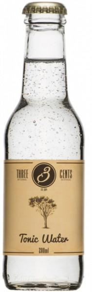 Three Cents Tonic Water Einzelflasche