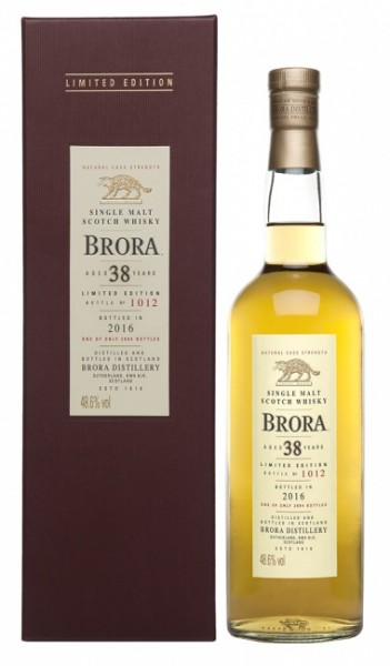 Brora 38 Jahre Natural Cask Strength 1977/2016