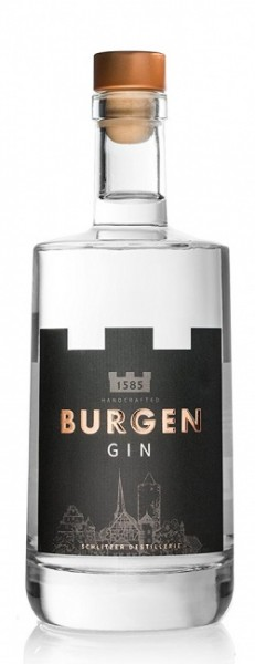 Burgen Gin vakuum-destilled