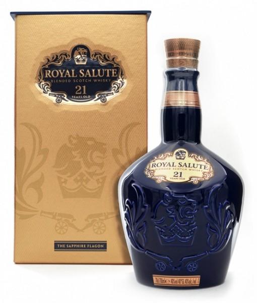 Chivas Royal Salute 21 Jahre sapphire