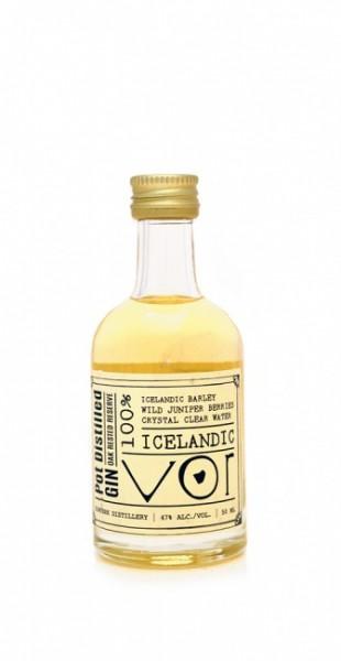 VOR 100% Icelandic Pot Distilled Barael Aged Gin Miniatur