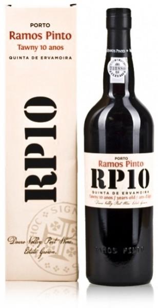 """Ramos Pinto """"RP 10"""" Quinta da Ervamoira 10 Jahre"""