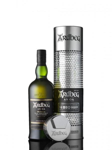 "Ardbeg An Oa Whisky ""The BBQ Smoker"""