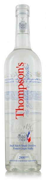 Thompson's French Grape Vodka