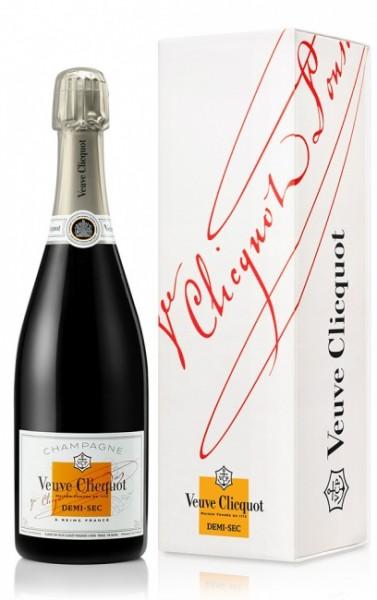 Veuve Clicquot Demi-Sec in Geschenkverpackung