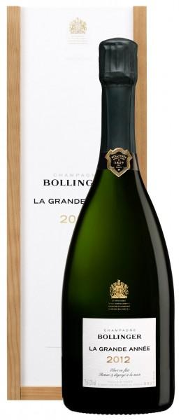 Bollinger Champagner La Grande Année GP 2012