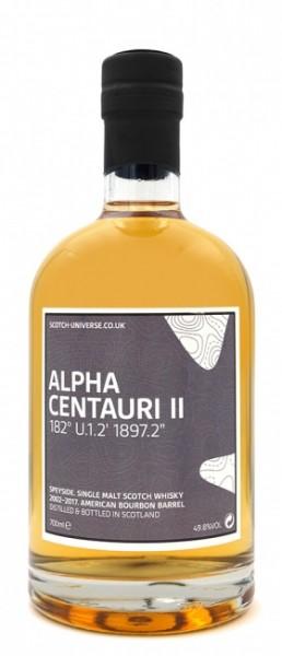 "Scotch Universe Alpha Centauri II 182° U.1.2' 1897.2"""