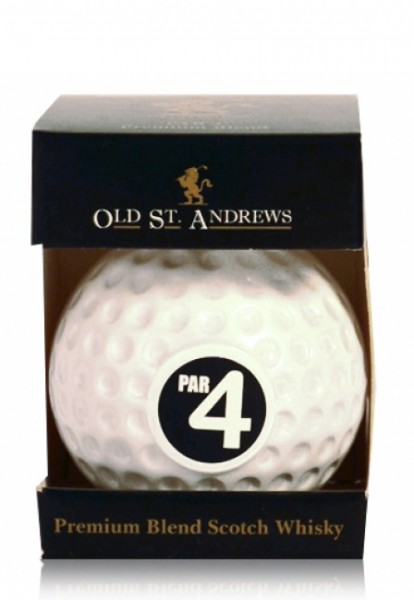 "Old St. Andrews Golfball ""Par 4"" Miniatur"